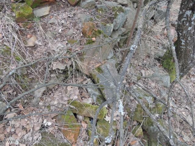 граничен пост в подножието на връх Бабин нос