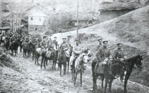 Снимки от участието на Трети пехотен Бдински полк в Първата световна война участват в дигиталната колекция на архивите