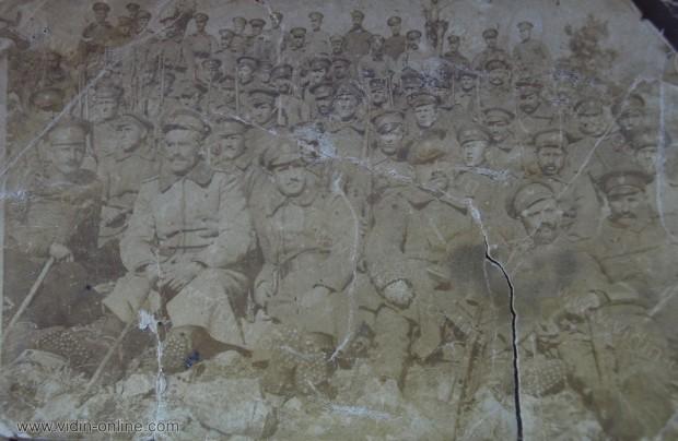 Някъде на фронта 1917г.