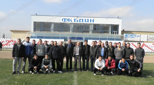 """ОФК""""Бдин"""" Видин Димитър, Герасимов"""