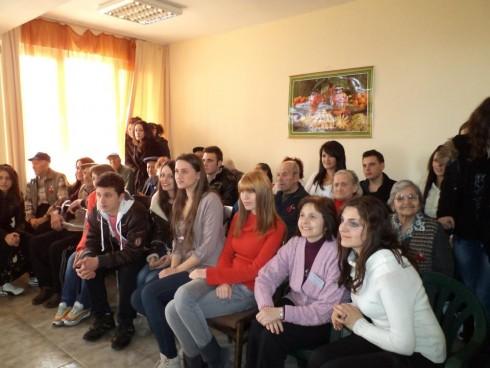 """Учители и ученици от сръбската гимназия """"Светозар Маркович"""" в град Ниш днес пристигнаха във Видин"""