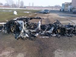 """На 12 март около 22.49 часа в гр.Видин е възникнал пожар в лек автомобил """"Ауди"""""""