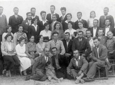 Конференция на средищната учителска колегия (Раковица, Киряево, Влахович, Старопатица, цар Шишманово), фото 1932 г., месец ІХ.