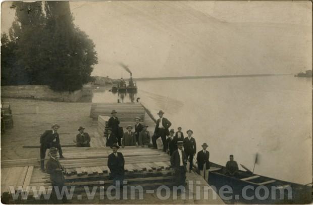 Товарната база на старото пристанище във Видин