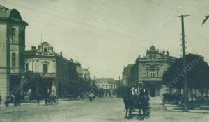 Улица Московска и Търговският дом - Видин