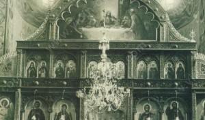 Средния иконостас в Катедраления храм Св.Димитър - Видин