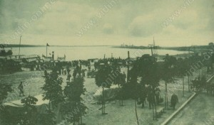 Унагрски параход на Видинското пристанище - Видин