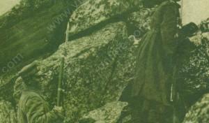 Войници от трети пехотен бдински полк на връх Пелистер