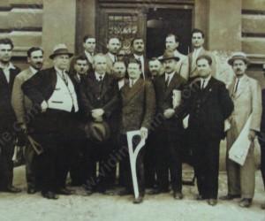 Участници на кроячески курс във Видин 1936