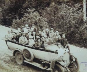 Излет с кола 30-те години на 20век