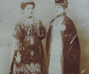 Участници в пиеса в еврейския клуб 1900г.