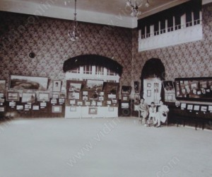 Изложба на Тихомир Коджаманов във военния клуб във Видин 1928г.